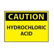 Image of Hydrochloric Acid Caution Sign