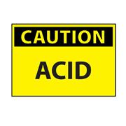 Acid Caution Sign