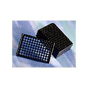 Corning® 96 Well Black Flat Bottom Polystyrene NBS™ Microplate, 25 per Bag, without Lid, Nonsterile