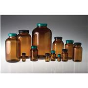 Thumbnail Image for 250 cc Amber Wide Mouth Packer Bottle