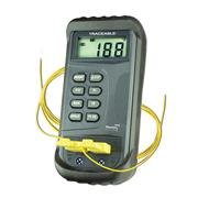 Traceable� Two-Channel Thermometer With Offsets