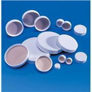 White Polypropylene Cap With Teflon Liner