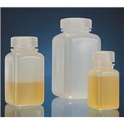High-Density Polyethylene Square Storage Bottles