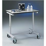Variable Height, Bench-Type Laboratory Cart