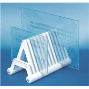 Scienceware® Electrophoresis Gel Plate Drying Rack, Smooth Polypropylene Construction