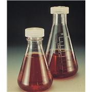 Graduated Polycarbonate Erlenmeyer Flasks With Screw Cap