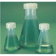 Graduated, Polymethylpentene Erlenmeyer Flasks With Screw Cap