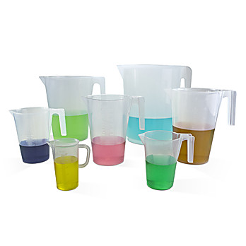 Scienceware® Graduated Pitchers, Polypropylene