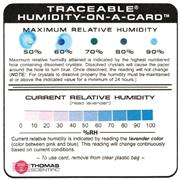 Thomas Traceable� Humidity-On-A-Card