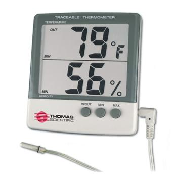 Traceable® Jumbo Humidity/Temperature Meter