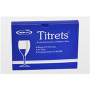 Sulfite in Wine Titrets Kit