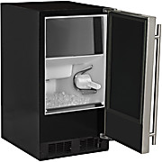 "Image of 15"" ADA-Height Compliant Low Profile Clear Ice Machine with Arctic Illuminice™ Lighting"