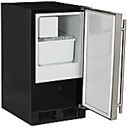 "Image of 15"" ADA-Height Compliant Low Profile Crescent Ice Machine"