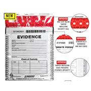 SureSeal™ Tamper Indicating Evidence Bags with Control Numbers