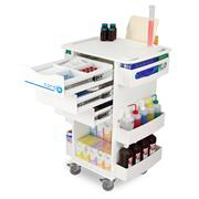 Polyethylene Locking Core DX Medical Carts