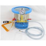 1.5 Gallon Tall Stainless Steel Vacuum Chamber