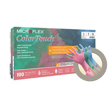 Image of ColorTouch® Latex Gloves