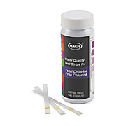 Free & Total Chlorine Test Strips, 0-10 mg/L