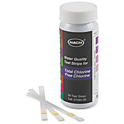 Free & Total Chlorine Test Strips
