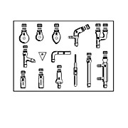 SYNTHWARE 14-Piece Microscale Organic Chemistry Kit