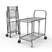 Collapsible Wire Utility Carts
