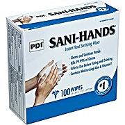 Sani-Hands® Instant Hand Sanitizing Wipes