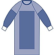 Sterile Poly-Reinforced Sirus Surgical Gowns with Raglan Sleeves