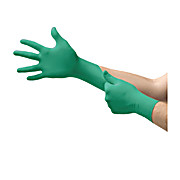 92-500 TouchNTuff® Powdered Disposable Nitrile Gloves