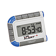 Lab Alert® Four Channel Timer/Clock