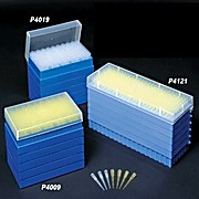 Stack Rack 200™ Pipet Tips, Yellow tips, 20 x 10 rack configuration, graduated, Qty: 1000