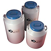 Liquid Nitrogen Refrigerators - Rack Storage, Cap: 60 liter, Dims: 22 x 28 in, Rack cap: 4 Boxes/rack Cap: 5, Total Boxes Cap: 20