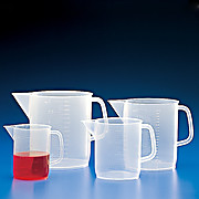 Polypropylene Pitchers with Molded Graduations