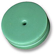 Advanced Green Septa, 11mm - Rated to 400C- Silicone Rubber