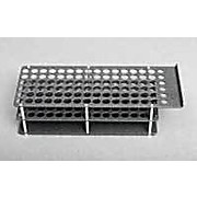 96 Position Round Hole Sample Rack for Oils Applications, 10 mL Vials