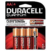 Thumbnail Image for Duracell® Quantum® Alkaline Batteries With Duralock Power Preserve™ Technology