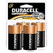 Thumbnail Image for Duracell® Coppertop® Alkaline Retail Battery With Duralock Power Preserve™ Technology