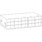 Upright Freezer Racks (for 96-Well Microtube Boxes)