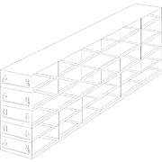 Thumbnail Image for Upright Freezer Drawer Racks for 96-Well & 384-Well Microtiter Plates