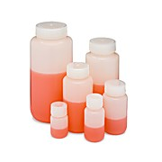 HDPE Wide Mouth Laboratory Bottles