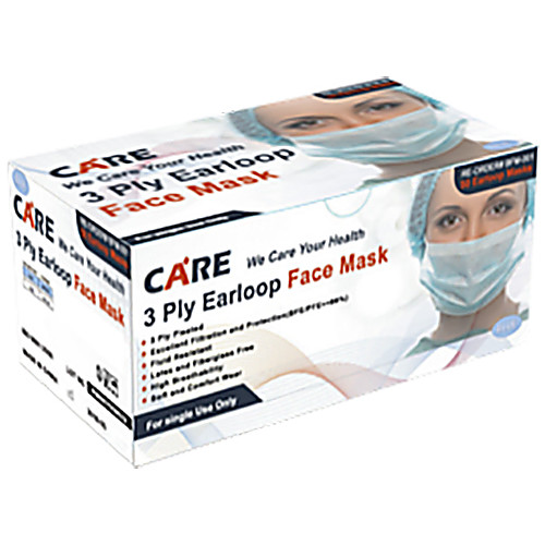 Masks Care 3-ply Ear Face Loop
