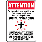 ACCUFORM® Safety Sign