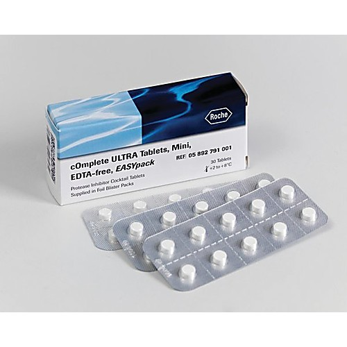 roche protease inhibitor cocktail edta free