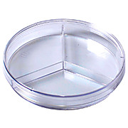Kord™ 100 x 15 Tri-Plate Petri Dish, No Rim for Automation