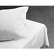 White Fanfold Drape Sheets