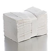 "Fanfold Drape Sheets, White, 40"" x 48"", 2-Ply"