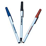 Thumbnail Image for Cleanroom Pens, Caps, Ballpoint, Black, Blue and Red