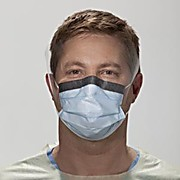 Thumbnail Image for Fluidshield® Fog-Free Procedure Mask with Earloops, Wraparound Visor