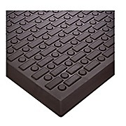 Anti-Fatigue Mat, Rejuvenator, Black Urethane, 2 x 3 ft