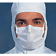"Kimtech™ M3 Sterile Face Mask With Knitted Earloops - 7"" Pleat Style"