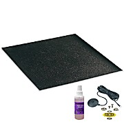 Conductive PVC Black Floor Matting 72ft Roll, 0.08in x 48in Statfree CV280